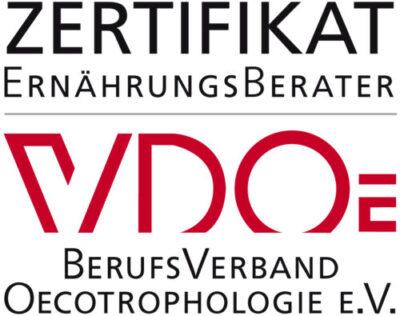 Zertifikat VDOe K. M. Koczor